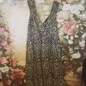 Attention Sz XL maxi dress